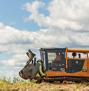 scenic mulching machine
